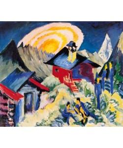 Ernst-Ludwig Kirchner, Mondaufgang