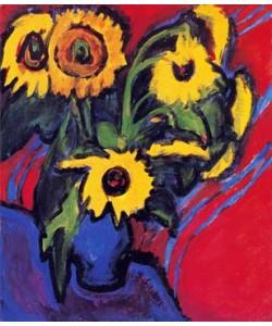 Ernst-Ludwig Kirchner, Sonnenblumen