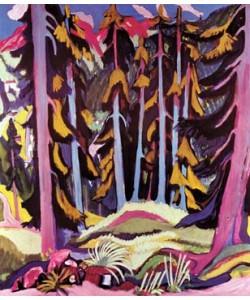 Ernst-Ludwig Kirchner, Waldinneres