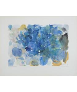 Ernst Wilhelm Nay, Blau Fugal