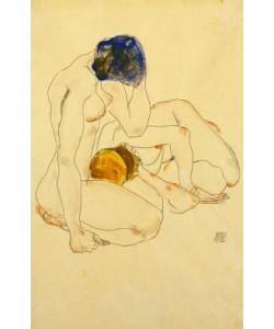 Egon Schiele, Zwei Freundinnen