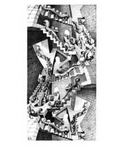 M. C. Escher, Treppenhaus
