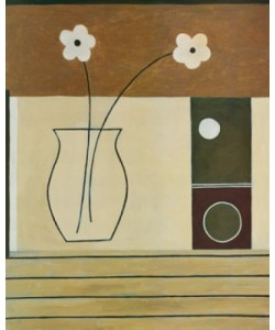 Pablo Esteban, Circles & Flowers I