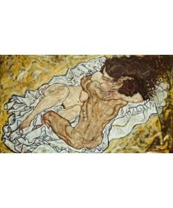 Egon Schiele, Die Umarmung