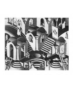 M. C. Escher, Konkav und Konvexe