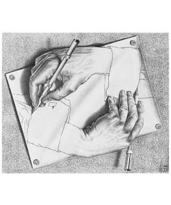 M. C. Escher, Zeichnen