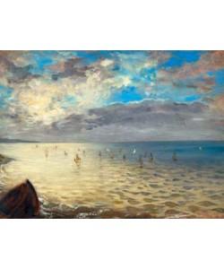 Eugene Delacroix, Das Meer, von den Höhen bei...