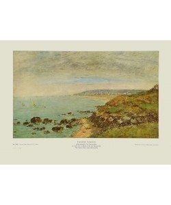 Eugène Boudin, Atlantikküste bei Bénerville - Die Seine-Mündung