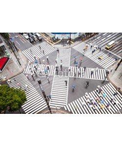 eyetronic, Straßenkreuzung in Tokyo