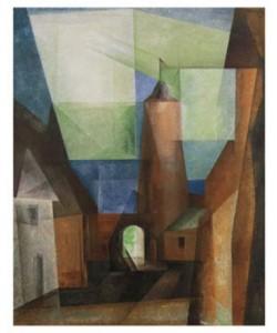 Lyonel Feininger, Der Grützturm in Treptow