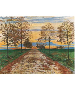 Ferdinand Hodler, Herbstabend, 1892