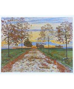 Ferdinand Hodler, Herbstabend - 1892
