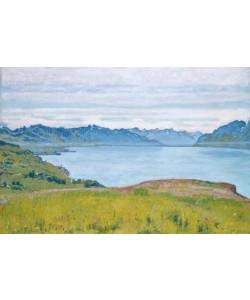Ferdinand Hodler, Landschaft am Genfer See