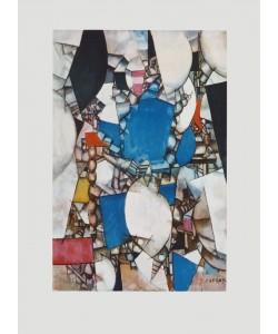 Fernand Leger, La Femme en Bleu (Büttenpapier)