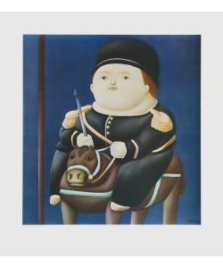 Fernando Botero, St. Georg