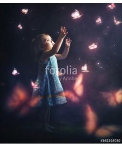 kevron2001, Litter girl chasing butterflies