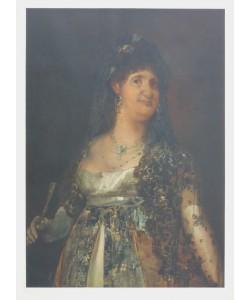 Francisco de Goya, Königin Maria Louisa von Spanien