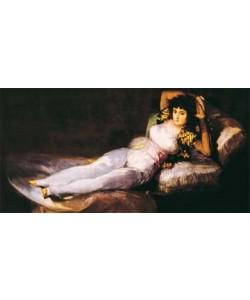 Francisco de Goya, Die bekleidete Maja