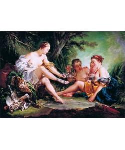 Francois Boucher, Diana nach der Jagd