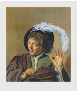 Frans Hals, Singender Knabe mit Flöte