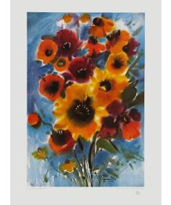 Franz Aumüller, Sommerblumen