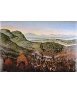 Franz Geffels, Die Entsatzschlacht vor Wien 12.9.1683