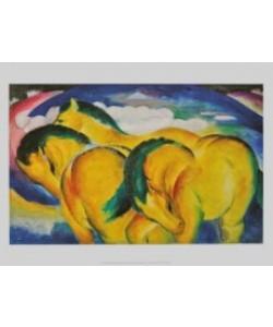 Franz Marc, Die kleinen gelben Pferde, 1912