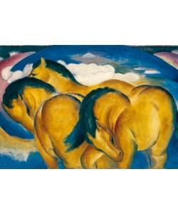 Franz Marc, Die kleinen gelben Pferde