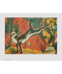 Franz Marc, Drei Katzen