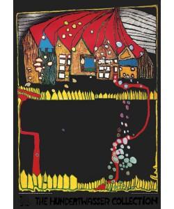 Friedensreich Hundertwasser, HÄUSER IM SCHNEE