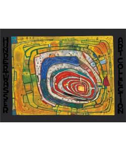 Friedensreich Hundertwasser, INSEL IM GELBEN MEER