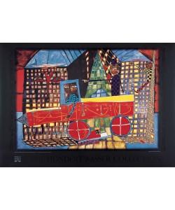 Friedensreich Hundertwasser, TRÄUMENDER LASTWAGENFAHRER