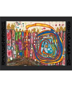 Friedensreich Hundertwasser, WHO HAS EATEN ALL MY WINDOWS