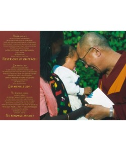 Frischknecht Johannes, Dalai Lama with Child