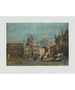Francesco Guardi, Markusplatz, Venedig