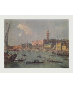 Francesco Guardi, Venedig mit Dogenpalast