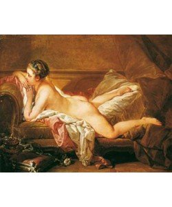 Francois Boucher, Ruhendes Mädchen