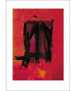 Franz Kline, Red painting, 1961 (Büttenpapier)