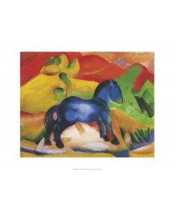 Franz Marc, Blaues Pferdchen, 1912