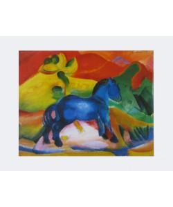 Franz Marc, Das blaue Pferdchen - 1912