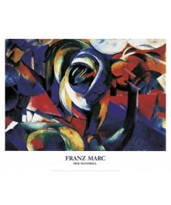 Franz Marc, Der Mandrill, 1913