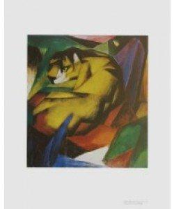 Franz Marc, Der Tiger
