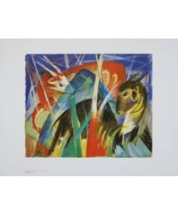 Franz Marc, Fabeltiere I