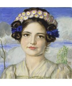 Franz von Stuck, Bildnis der Tochter Mary