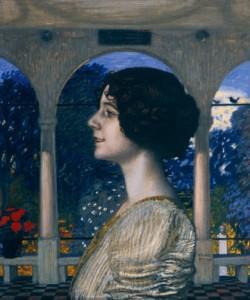 Franz von Stuck, Weibliches Portrait