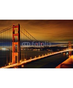 Frédéric Prochasson, Night scene of Golden Gate Bridge