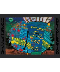 Friedensreich Hundertwasser, DER BLAUE MOND