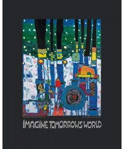 Friedensreich Hundertwasser, IMAGINE TOMORROW'S WORLD (BLUE)