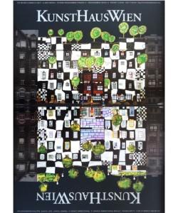 Friedensreich Hundertwasser, KUNSTHAUSWIEN (Original Manifesto-Art-Prints)