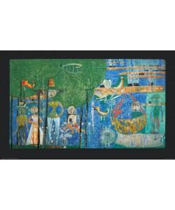 Friedensreich Hundertwasser, PARADIES - LAND DER MENSCHEN (Granolitho)